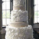 bolo de casamento de chantilly