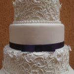 maquete de bolo de casamento