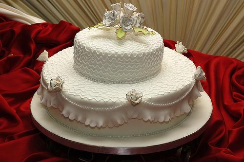 bolo de casamento decorado